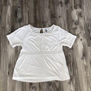 Geometric Cutout T-Shirt